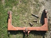 Quick Hitch, Heavy Duty, 1370 Case Tractor