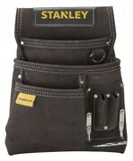 Stanley Leather Nail And Hammer Pouch Stst180114 Rivet Reinforced Stress Points