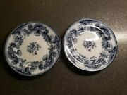 2-antique Charles Meigh And Sons Improved Stone China Plates Sutherland 1851- 1861
