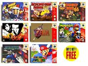 Retro N64 Nintendo 64 Game Posters Collection A3 / A4 Print Fan Art