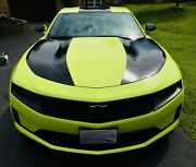 Fits 2019 - Up Camaro Outer Hood Blackout Graphics Ss Rs Lt V8 V6 Turbo 4