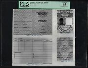 Philippines - Drivers Licence 1973 Photographic Proof Uncirculated