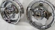 Harley Electra Glide Chrome Wheelsforks Rotors Touring 2009 -19 Oem Outright