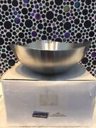 New Ligne Roset Nami Stainless Steel Fruit/salad Bowl Collectible