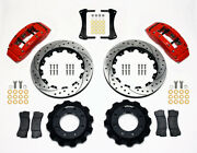 Wilwood Tc6r Big Truck Front Brake Kit For 1999-up Gm Truck/suv 1500 140-8992-dr