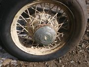 Chevrolet16 Spoke Steel Wheel Rims 1930's With Axle Or Separate