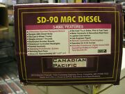 Mth - O Gauge - Sd-90 Mac Diesel - Canadian Pacific Prototype - Non Running