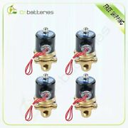 3/8 Npt Air Ride Suspension Valve Brass Electric Solenoid For Train Horn Fast 4