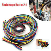 55m Heat Shrink Butt Car Suv Electrical Wire Crimp Terminal Connector Tubing Kit