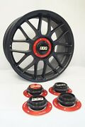 Bbs Rc 306 Centerlock Kit Rs Center Caps 18 Inch Large Thread 2.76in Vw Bmw