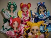 Used Megahouse Action Doll Yes Pretty Cure 5 Set Figure High Quality Super Rare