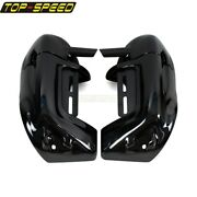 Plastic Painted Lower Leg Fairing Cap Cover For Harley Touring Road King 1983-12
