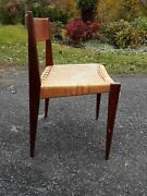 Poul Cadoviuspiadanish Teak Dining Chair With Paper Cord