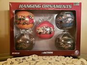 New Rusty Wallace Action Collectible Miller Lite 5pk Ornaments Limited Edition