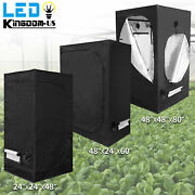 2and039x2and039 4and039x4and039 5and039x5and039 Indoor Grow Tent Room Reflective Mylar Hydroponics Plant Box