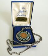 Genuine U.s. 1906 Indian Coin From Rafael Creations Turquoise Pendant Necklace