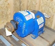 General Electric Ge 5hp Gear Motor 14l940hy13 208v 3 Phase