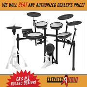 Roland Td-17kvx Electronic V-drum Kit With Rack In Stock Brand New Buy It Now