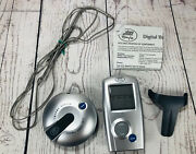 Weber 32908 Digital Professional-grade Barbecue Meat Thermometer New Open Box P