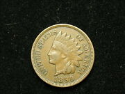 Blow Out Sale Xf 1899 Indian Head Cent Penny W/ Diamonds And Full Liberty 283v