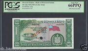 Western Samoa 10 Tala Nd 1967 P18ct Specimen Color Trial Uncirculated