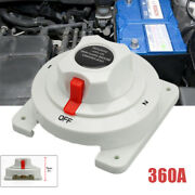 12v-36v 360adual Battery Switch Disconnect Isolator Selector For Boat Car Atv
