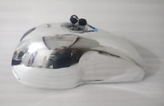 Benelli Mojave Cafe Racer Aluminum Petrol Gas Tank With Sporty Lockable Cap