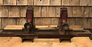 Incredible Antique Sommer And Maca Glass Machinery Self Aligning Glass Vise Tool