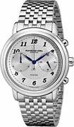 New Raymond Weil Menand039s 4830-st-05659 Maestro Stainless Steel Automatic Watch