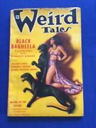 Weird Tales. January, 1935. Vol. 25, No. 1- Robert Bloch's First Published Story