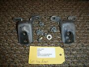 04 05 06 Infiniti G35 Coupe Driver Left Front Door Hinges Used With Bolts B-42