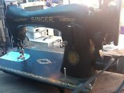 Vintage 1851-1951 100th Anniversary Edition Singer Sewing Machine 697841