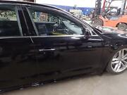 11 12 13 14 15 16 A8 Right Front Door W/laminated Glass Opt Vw8 Black Ly9t