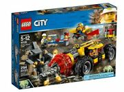 60186 Mining Heavy Driller Lego Set Legos City Town New Miners Tractor Drill