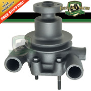 742558m91 New Water Pump W/ Pulley For Massey Ferguson 35 50 202 203 204 205