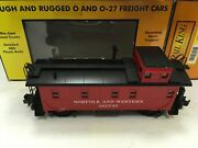 Mth Electric Trains Rail King Norfolk And Western Offset Steel Caboose New In Box