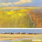 60wx40h A Beautiful Day By Jan Groenhart - Bold Landscape - Choices Of Canvas