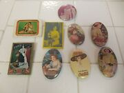 Vintage Coca-cola Compact Mirrors, Pins, Brooches, Sewing