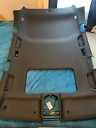 2014 Porsche Cayenne S 4.8l Roof Lining Headliner With Sunroof Black Oem