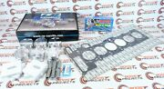 Cp-carrillo 85mm 9.01 Pistons And Cometic Gasket And Arp Head Studs For Bmw M54b30