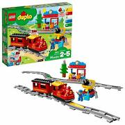Train Toy Playset Remote Control Building Blocks Set Toddlers Learn Gift Duplo