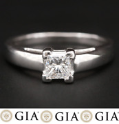 5950 / New / Gia Certified G/vs Diamond Platinum Ring / Bailey Banks And Biddle