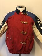 Rare Vintage 1992 Cp93 Rlyc P2 Patch Brass Buckle Boating Jacket