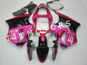 For Zx6r 00-02/zzr600 05-08 Abs Injection Mold Bodywork Fairing Kit Pink Black