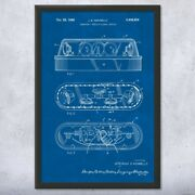 Framed Emergency Vehicle Lights Print Police Gift Law Enforcement Art Cop Gifts