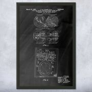 Ground Control Radar Framed Patent Print Aviation Gifts Airline Pilot Air Force