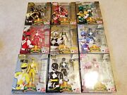 Sh Figuarts Mighty Morphin Power Rangers Team Sentai Mmpr Complete Set Lot Of 9