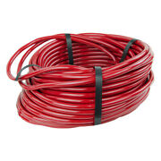Firm Color Coded Red Tube For Air/water Inner Dia 1/4 Outer Dia 3/8 - 100 Ft