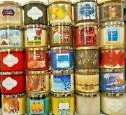 Bath And Body Works White Barn 3 Wick Candle Choose Your Scent Buy More Save More