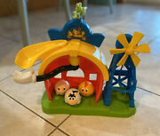Mickey Mouse Clubhouse Mickeyandrsquos Farm Playset Play Set 3 Balls And Slide Rare